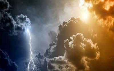 محکمہ موسمیات نے گرج چمک کے ساتھ بارشوں کی پیشگوئی کردی۔
