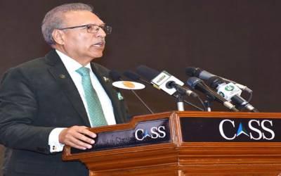 پاکستان امن کا داعی ہے کیونکہ ہم امن کی قدر و قیمت جانتے ہیں۔ صدر ڈاکٹر عارف علوی