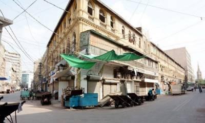 کراچی کی بڑی مارکٹوں کو صبح 10 بجے کھولنے کا فیصلہ