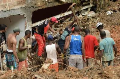 برازیل:شدید بارشیں ، سیلاب اور مٹی کے تودے گرنے سے16 افراد ہلاک, 33 لاپتہ