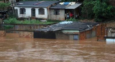 برازیل، طوفانی بارشوں کے بعد سیلاب نے تباہی مچادی