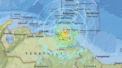 وینزویلا میں 5 درجے شدت کا زلزلہ