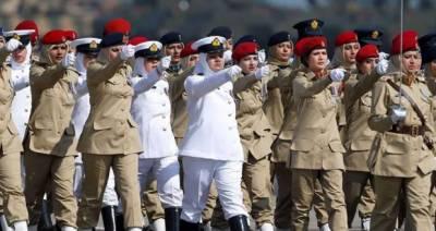 یوم خواتین، وطن کے دفاع میں مصروف عمل خواتین کو خراج تحسین ادا کرنے کا دن
