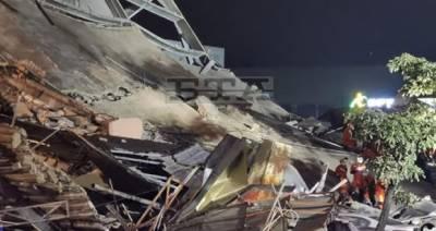 چین میں کورونا وائرس کے مریضوں کی عمارت زمیں بوس، سات افراد ہلاک، 28 لاپتہ