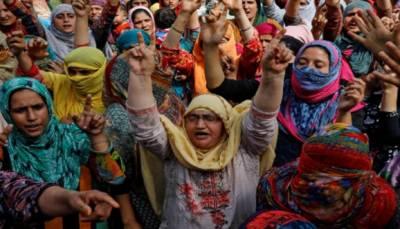 مقبوضہ کشمیر:1989 سے اب تک بھارتی فوج کےہاتھوں ہزاروں خواتین شہید