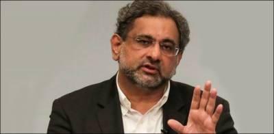 6 ماہ گزر گئے نیب الزامات ثابت نہیں کر سکا: شاہد خاقان عباسی
