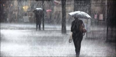 بدھ سے جمعہ کے دوران بارشوں کا نیا الرٹ جاری