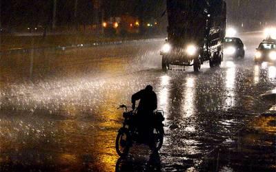 آئندہ 24 گھنٹوں کے دوران ملک بھر میں طوفانی بارشوں اور برفباری کاامکان