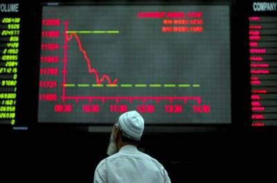 پاکستان سٹاک ایکسچینج میں شدید مندی کے باعث کاروبار 45 منٹ کے لئے معطل
