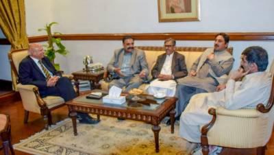 ن لیگ کے ناراض 3 اراکین اسمبلی کی گورنر پنجاب چودھری محمد سرور سے ملاقات