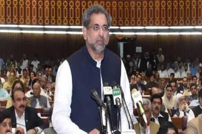 خوشی ہے وزیر اعظم نے نوٹس لیا ہے:شاہد خاقان عباسی