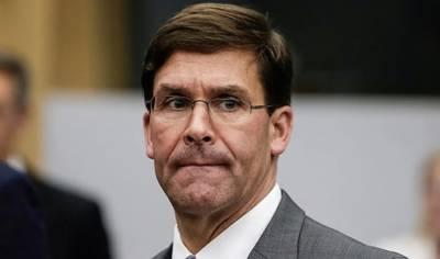 امریکی وزیر دفاع اور ان کے نائب کو کرونا کے شبے میں قرنطینہ منتقل