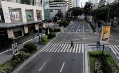 کورونا وائرس کے خوف کے باعث فلپائن نے تمام بازار بند