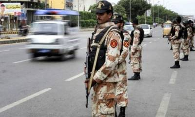 وزیر اعلیٰ سندھ کی اپیل پر مختلف شاہراہوں پر رینجرز کی نفری تعینات