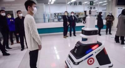 شنگھائی .کورونا سے بچا وکیلیے جراثیم کش اسپرے کرنے والے روبوٹس تیار