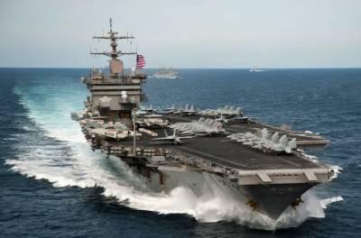 امریکی بحری بیڑے پر موجود 23 افراد کی کرونا کا شکار ہونے کی تصدیق