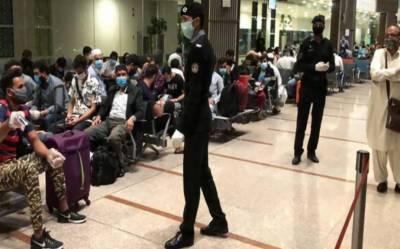 تھائی لینڈ سے آئے تمام 170 پاکستانی کورونا وائرس ٹیسٹ میں کلیئر قرار دیدیئے گئے