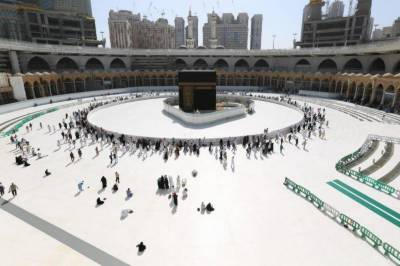 سعودی حکومت نے حرم شریف میں مطاف کے حصے میں طواف کی اجازت دے دی