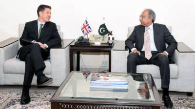 برطانیہ پاکستان کے عوام کو سہولتوں کی فراہمی کیلئے پاکستان کی کوششوں کی حمایت کرتا ہے،برطانوی ہائی کمشنر