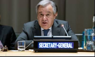 نیو یارک ۔جنگی حالت کا سامنا کرنے والوں کو نہیں بھولنا چاہئے، سیکرٹری جنرل اقوام متحدہ