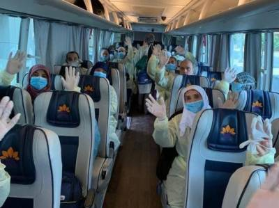 سعودی وزارت حج کی زیر نگرانی 366 ترک عمرہ زائر ین ترک واپس روانہ