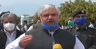 حکومت صوبے میں کوروناوائرس کے پھیلاؤکو روکنے کیلئے تمام ممکنہ وسائل استعمال کررہی ہے،محمود خان