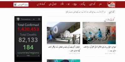 پاکستان میں کورونا وائرس میں مبتلا 4005 کنفرم مریض، ہلاکتیں 54 ہوگئیں