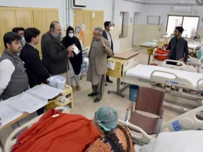 بلوچستان کے سرکاری ہسپتا لوں میں میڈیکل سروسز بحال