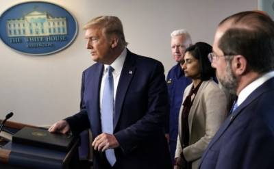 واشنگٹن۔کورونا وائرس،امریکی صدر نے ایپل اور گوگل سے مدد مانگ لی