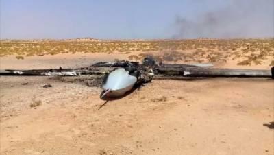 لیبی فوج نے ترکی کے دو ڈرون مار گرائے۔