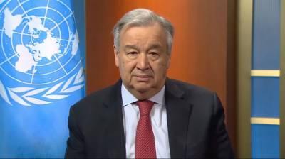 سیکرٹری جنرل اقوام متحدہ کا تمام مذہبی پیشواؤں پر کورونا وائرس کیخلاف مشترکہ جنگ پر زور