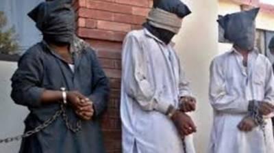 سیالکوٹ سےخطرناک تین رکنی ڈکیت گینگ گرفتار