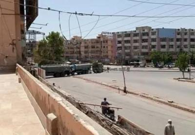 کراچی، مختلف مقامات پر پولیس، رینجرز کی ناکہ بندی