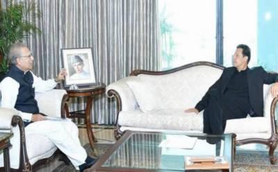 صدر مملکت اور وزیراعظم کی ملاقات، کشمیریوں کے حقوق سلب کرنے کی شدید مذمت