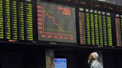 سٹاک مارکیٹ میں کاروبار کے دوران شدید مندی ،100ا نڈیکس 507 پوائنٹس کی کمی