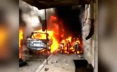 شام: آئل ٹینکر میں آتشزدگی سے 5 افراد جھلس کر جاں بحق،24زخمی