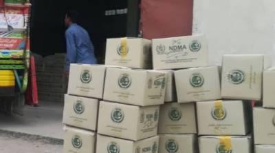 این ڈی ایم اے بلوچستان اور گلگت بلتستان کے طبی کارکنوں کو حفاظتی آلات کی چوتھی کھیپ بھیج رہا ہے