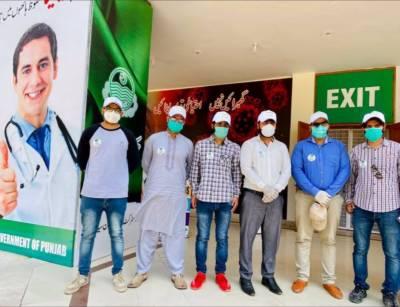 وزیراعلی ٰ پنجاب سردارعثمان بزدار نے آج ٹائیگر فورس کا افتتاح کردیا ۔
