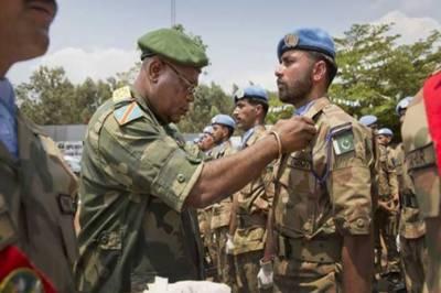 پاک فوج کی کانگو امن مشن میں شاندار خدمات پر اقوام متحدہ کا خراج تحسین