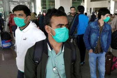 ابوظہبی سے آنیوالے 100سے زائد مسافروں کا کورونا ٹیسٹ مثبت آگیا