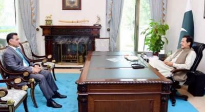 وزیراعظم ڈی جی آئی ایس آئی کا قومی سلامتی سے متعلق امور پر تبادلہ خیال