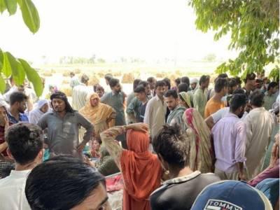 شیخوپورہ میں گندم کی کٹائی کے دوران فائرنگ سے دو خواتین سمیت 8 افراد جاں بحق، 5 زخمی
