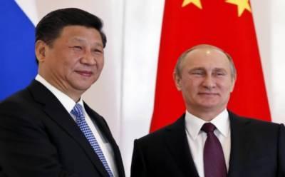 چین کے صدر مملکت شی جن پھنگ کی اپنے روسی ہم منصب پوٹن کے ساتھ ٹیلی فون پر گفتگو