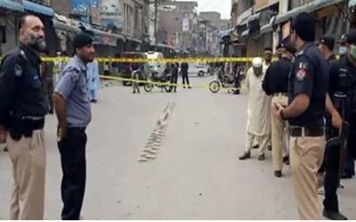 پشاور میں دھماکا، پولیس اہلکاروں سمیت 5 افراد زخمی