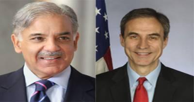 شہبازشریف کا پاکستان میں امریکی ناظم الامور سفیر پال جونز کو جوابی خط
