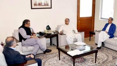 وزیربحری امورکی مشیر خزانہ سے ملاقات، مالیاتی ضرورتوں بارے تبادلہ خیال