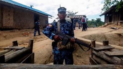 میانمار کی فوج کا صوبہ رخائن میں قیدیوں پر تشدد کا اعتراف