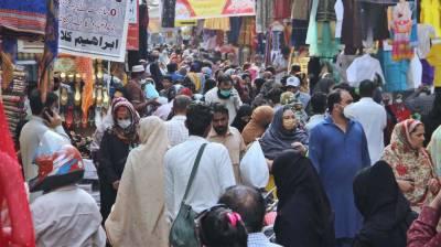 لاہور:مارکیٹوں میں کاروباری سرگرمیاں جاری، حکومتی ہدایات نظرانداز