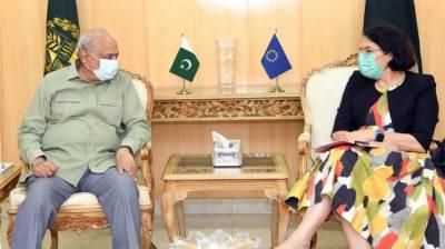 یورپی یونین کی کورونا وائرس وبا سے نمٹنے کیلئے پاکستان کو 15کروڑ یورو امداد کی پیشکش