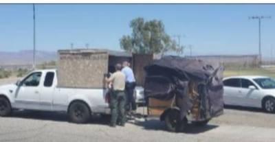 کیلی فورنیا :پولیس نے لکڑی کے گرم صندوق سے 5 زندہ بچے برآمد کر لیے